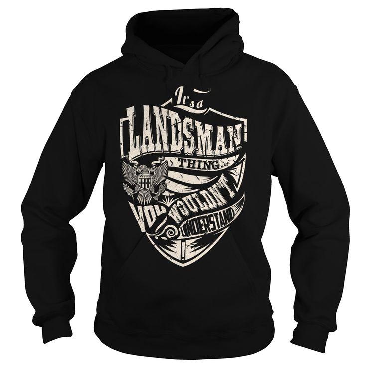 Its a LANDSMAN Thing (Eagle) - Last Name, Surname T-Shirt