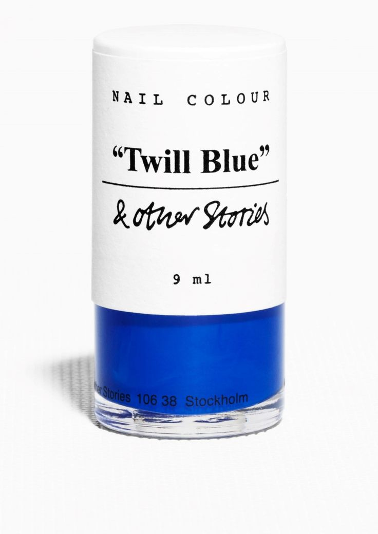 & Other Stories | Nail Colour - Twill Blue.