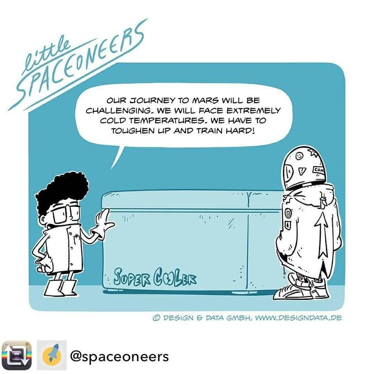 Repost from @spaceoneers using @RepostRegramApp - The #LittleSpaceoneers test their endurance in preparation for the cold temperatures of Mars.  #Mars #missiontomars #GYATM #cold #freezer #freezing #comic #comicart #instaspace #instalike #potd #entrepreneur