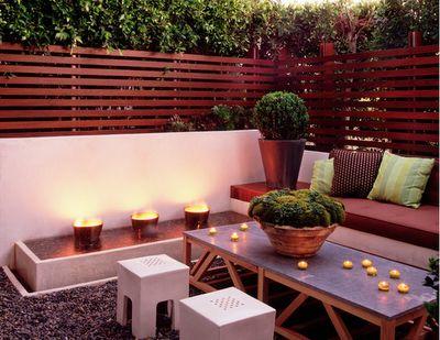 patio. privacy.