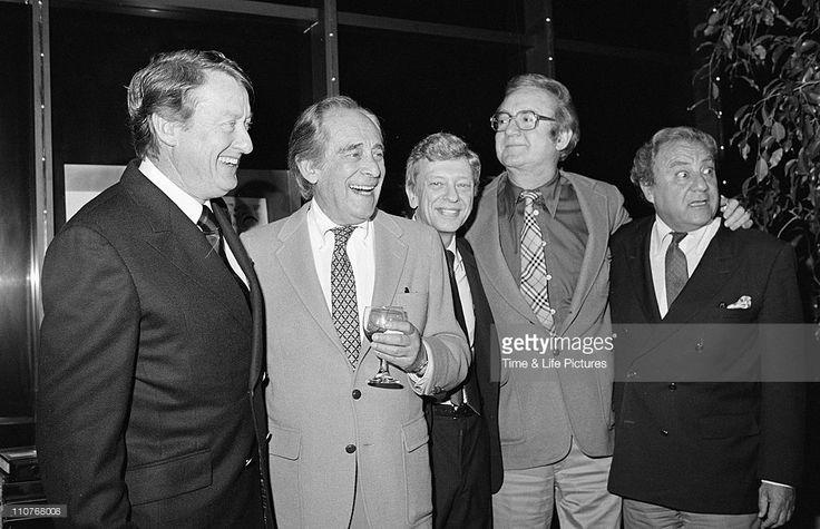 Tom Poston, Louis Nye, Don Knotts, Steve Allen and Bill Dana