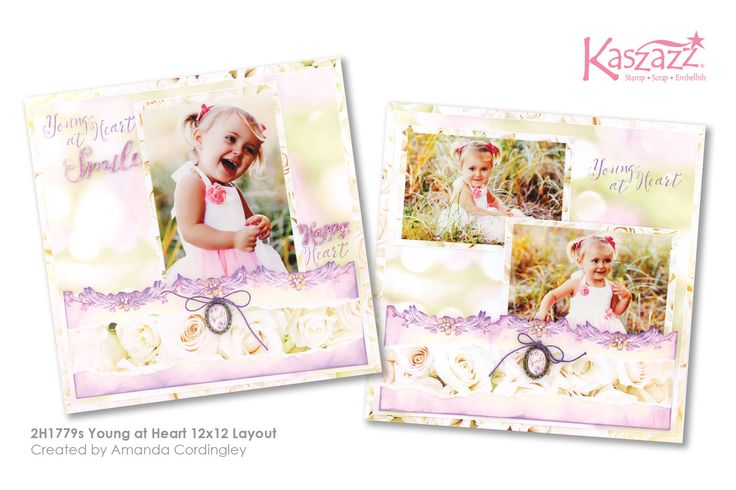 2H1779s Young at Heart 12x12 Layout