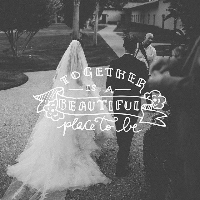 Together is a beautiful place to be. - http://ift.tt/1HQJd81