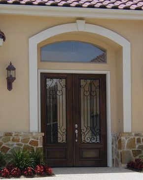 25 best ideas about spanish front door on pinterest for Mediterranean style entry doors