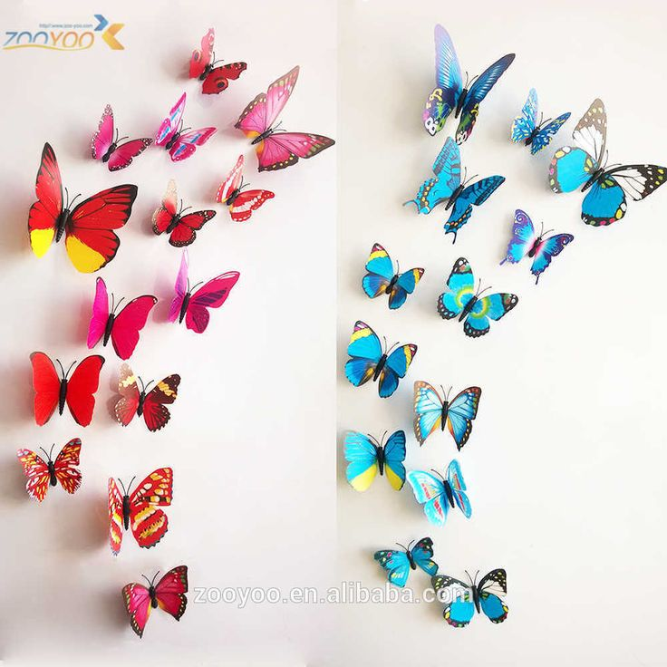 butterfly wall design - Google Search