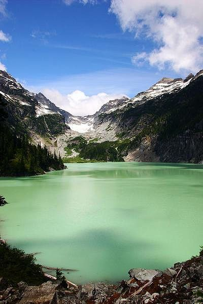 Blanca Lake, Washington #CMglobetrotters