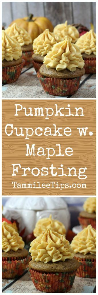 Super easy, best Pumpkin Cupcake with Maple Frosting and filling is perfect for Fall! Made from scratch this cupcake is great for anyone who loves pumpkin! Great for Halloween, Fall parties, Harvest parties, and more!