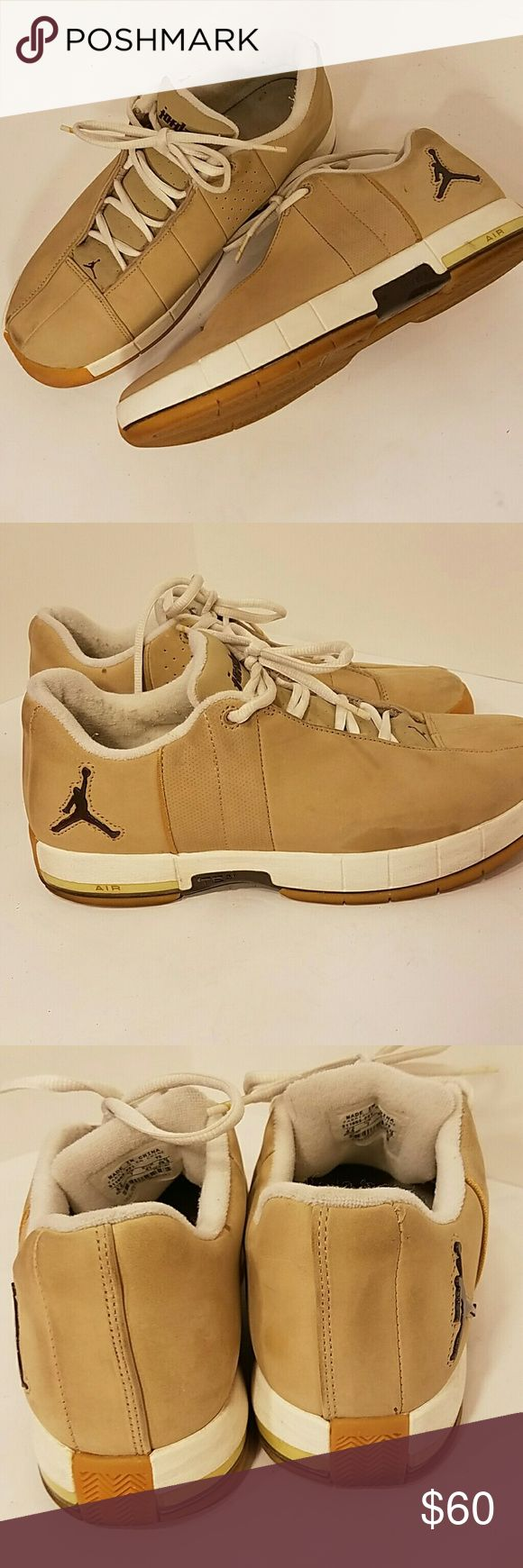 Barely used Air Jordans low top size 9 1/2 Gambling and barely used a couple of small scuffs probably can wipe off #ac Jordan Shoes Athletic Shoes
