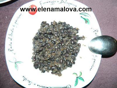 Elena Malova: Porotos negros con arroz integral