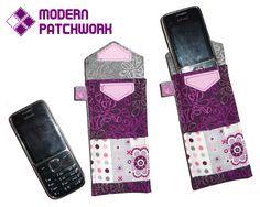 Ako ušiť puzdro na mobil / ModernPatchwork » SAShE.sk - slovenský handmade dizajn