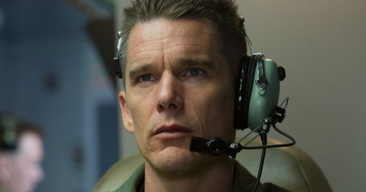'Good Kill' Digital HD Preview with Ethan Hawke | EXCLUSIVE -- Stars Ethan Hawke, January Jones and Zoe Kravitz discuss working with writer-director Andrew Niccol in our exclusive look at 'Good Kill'. -- http://movieweb.com/good-kill-movie-digital-hd-preview-ethan-hawke/