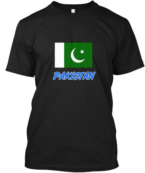 Pakistan Flag Artistic Blue Design Black T-Shirt Front - This is the perfect gift for someone who loves Pakistan. Thank you for visiting my page (Related terms: I Heart Pakistan,Pakistan,Pakistani,Pakistan Travel,I Love My Country,Pakistan Flag, Pakistan Map,Pa #Pakistan, #Pakistanshirts...)