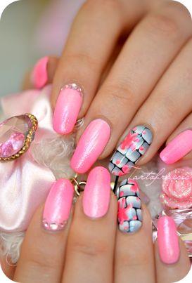 mur one stroke us #nailart #nails #mani