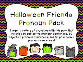 Target a variety of pronouns with this pack that includes 30 subjective pronoun sentences, 30 objective pronoun sentences, and 30 possessive pronoun sentences!