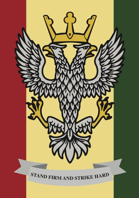 The Mercian Regiment is an infantry regiment of the British Army, which is recruited from the five counties that formed the ancient kingdom of Mercia. Known as 'The Heart of England's Infantry', it was formed on 1 September 2007 by the amalgamation of three existing regiments. The Regiment has deployed on eight operational deployments since its formation, making it one of the most operationally experienced regiments in the British Army.