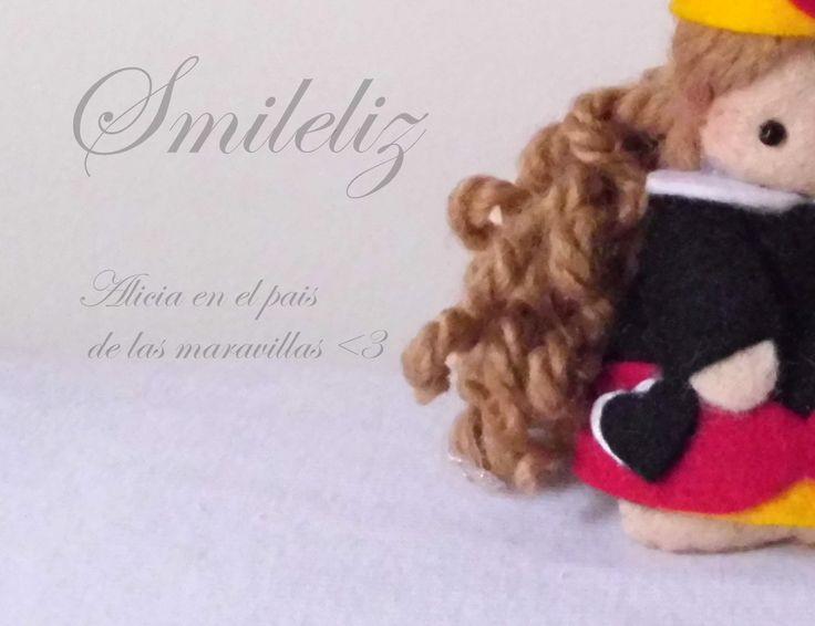 Felt doll: Reina de corazones