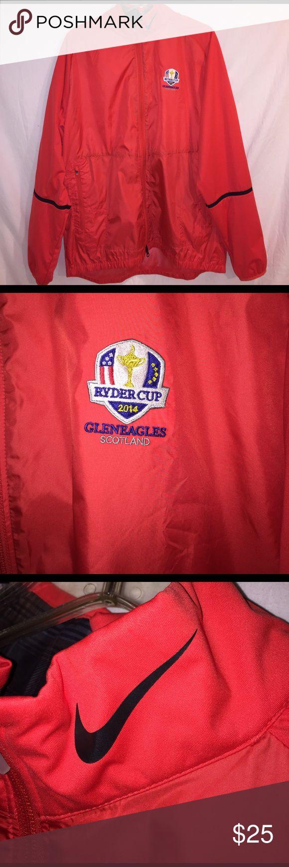 Nike Golf 2014 Ryder's cup jacket Great lightweight Nike golf jacket. 2014 Ryder cup edition size Large Nike Jackets & Coats Lightweight & Shirt Jackets