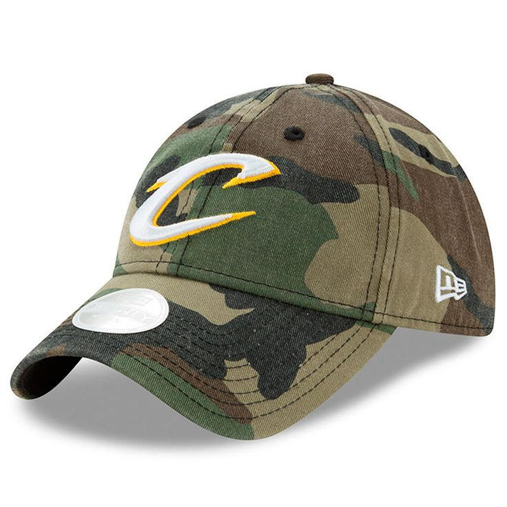 Cleveland Cavaliers New Era Women's Preferred Pick 9TWENTY Adjustable Hat - Camo - Fanatics.com