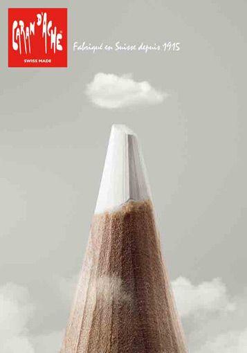 Publicité Caran d'Ache
