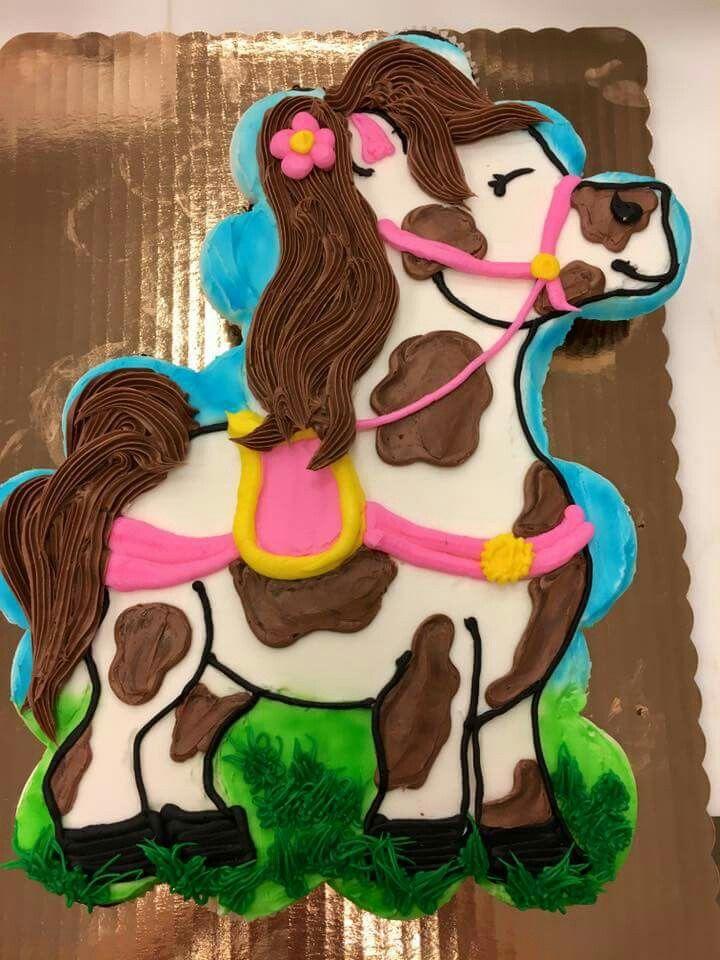 Horse cupcake cake                                                       …