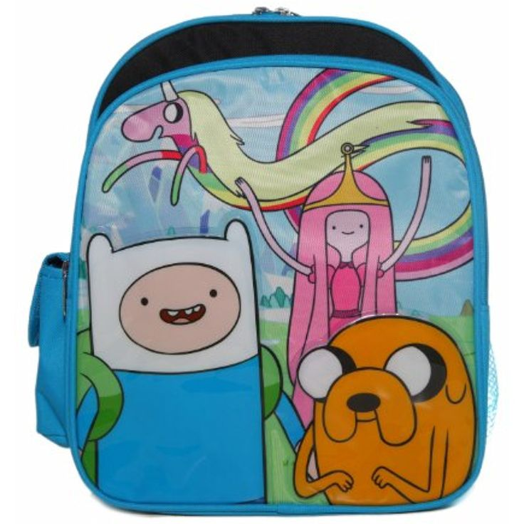 Ruz Adventure Time Jake, Finn and Princess Bubblegum Small Backpack Bag * You can get more details by clicking on the image. (This is an affiliate link) #KidsFurnitureDcorStorage