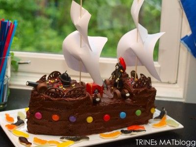 bolo navio pirata com passo a passo