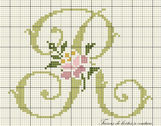 grille lettre r de l 39 alphabet style liberty offerte par les tr sors de bo tes couture punt. Black Bedroom Furniture Sets. Home Design Ideas