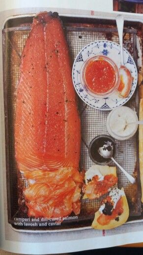 Campari and dill cured salmon DH84 p113