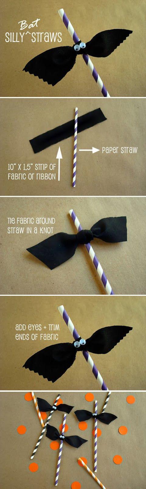 Silly Bat Straws