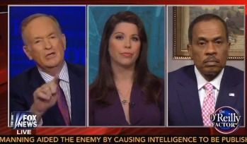 'B.S.!': Sparks Fly as Bill O'Reilly and Juan Williams Clash Over Gay Marriage and States' Rights