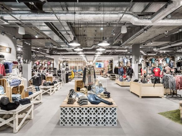 Kult Mannheim  Shop Design, Ladenflächen  Corneille Uedingslohmann Architekten