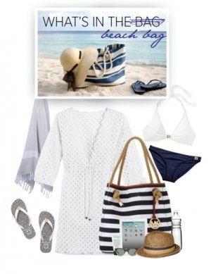 пляжный лук в морской теме