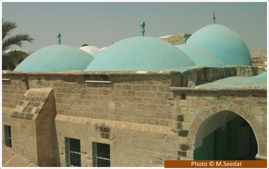 Maqam of Prophet Musa (upon him be peace) The exact place where Musa (upon him be peace) is buried is unknown but tradition holds that Salahuddin Ayyubi once had a dream where he was shown this spot. He had a mosque built on the site which was further expanded by Sultan Baybars in 1269 CE. The Maqam is located 11km south of Jericho and 20km east of Jerusalem.