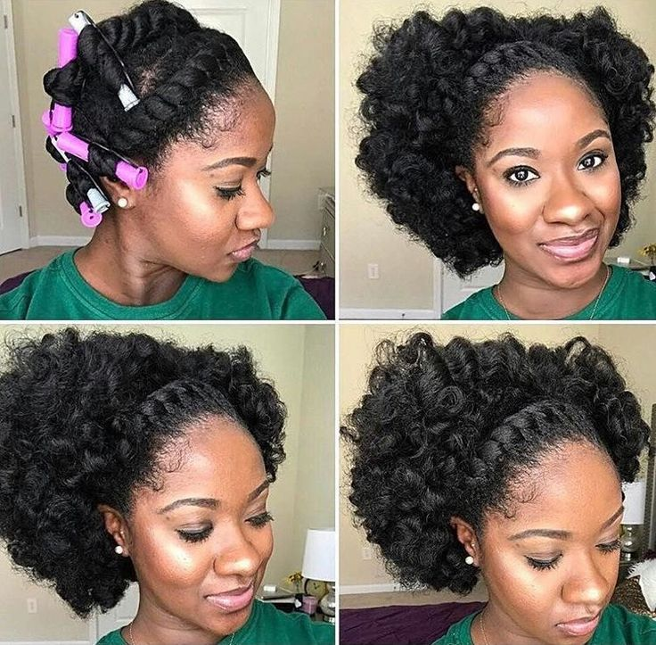 Short Natural Updo Hairstyles: 25+ Best Natural Black Hairstyles Ideas On Pinterest