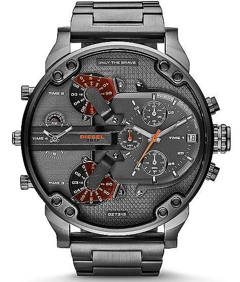 Diesel Mr. Daddy Watch - Men's Watches ✖️More Pins Like This of At FOSTERGINGER @ Pinterest✖️
