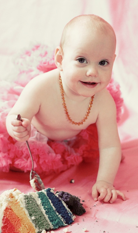 Cake Smash - Zoe Elizabeth Photography