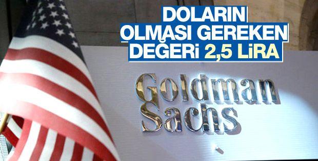 Türk Lirası adil değerinin altında