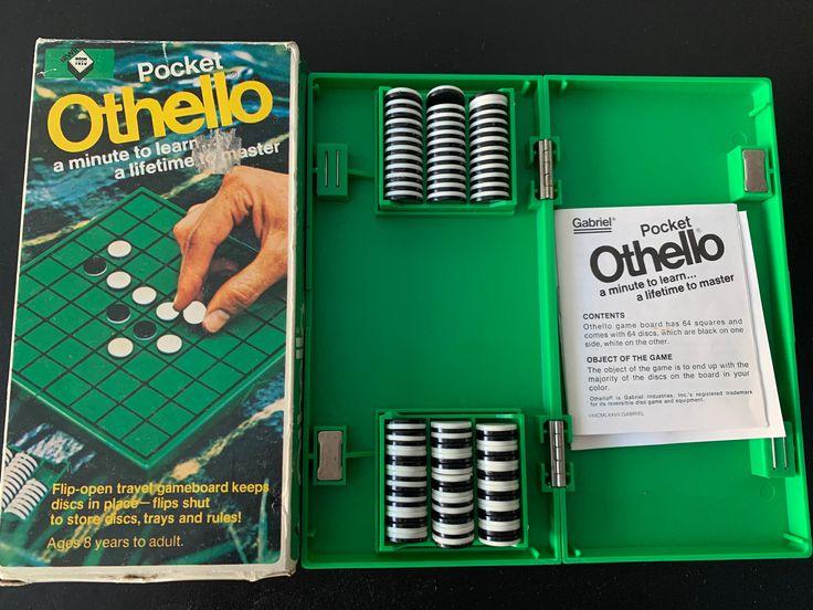 Othello Game 1980's Etsy in 2020 Othello game, Othello