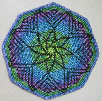Tapestry Crochet by Esther Holsen. Love the simplicity of this piece