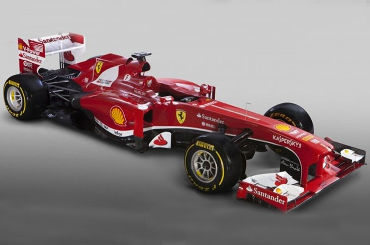 La nuova Ferrari F138