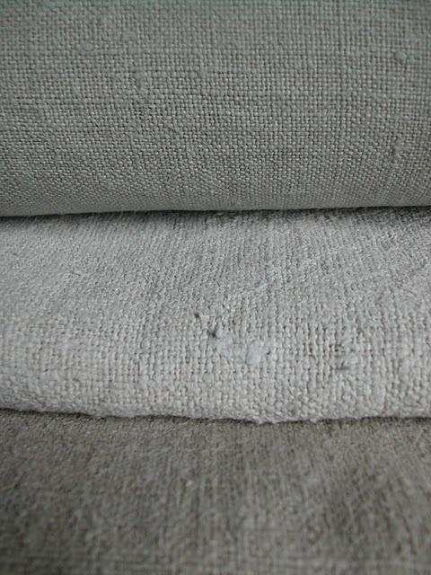 Nubbly linen. #textiles