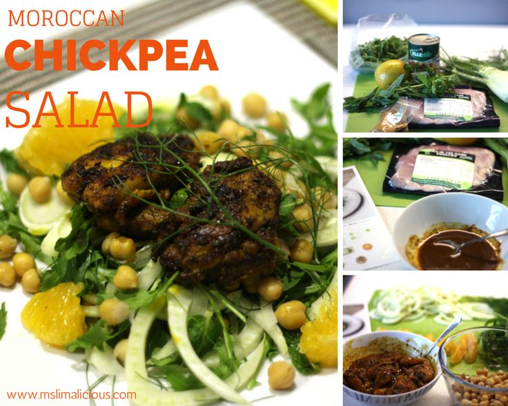 Moroccan chickpea and chicken recipe