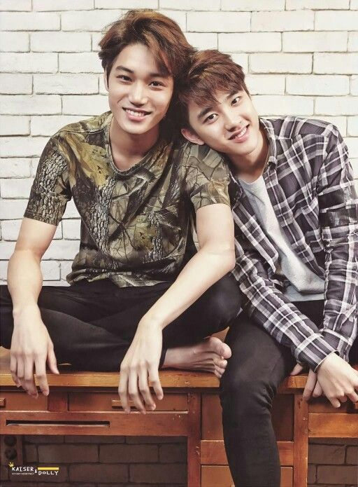 D.O & Kai on EXOLOGY Chapter 1 Photobook