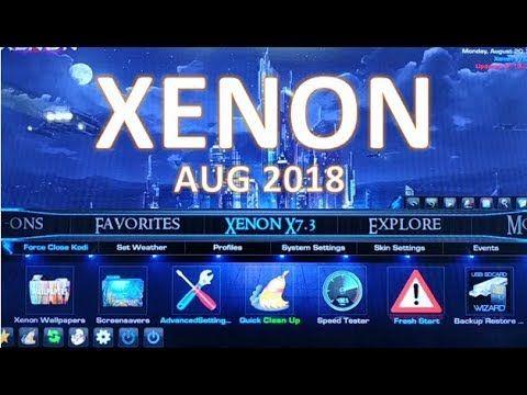 Diggz Xenon 7 3 7 3 best kodi build August 2018 | Kodi Complete