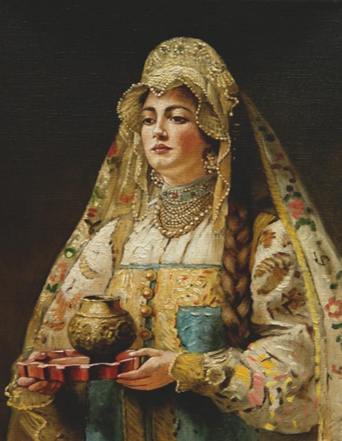 "Константин Маковский ""Чарка меда"""