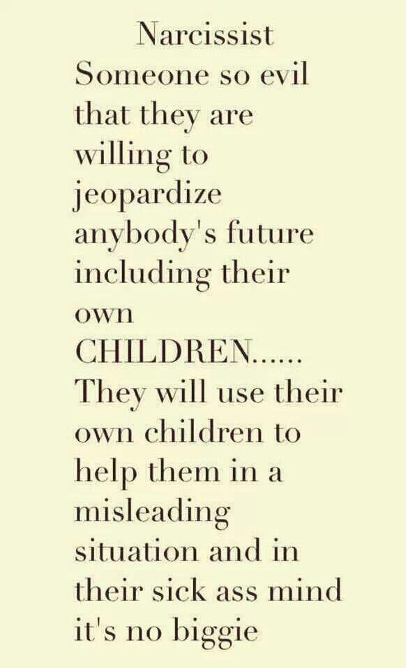 Parental destructive narcissism