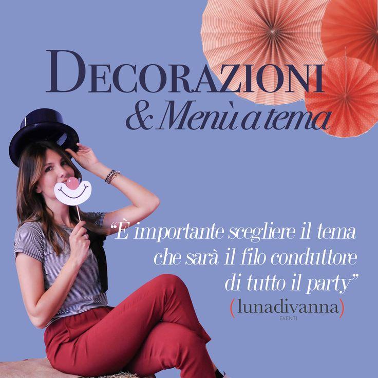 """""""E importante scegliere il tema che sarà il filo conduttore di tutto il party"""" #lunadivanna #party #planner #design #style #roma #bestmoments #memories Luna Di Vanna www.lunadivanna.com +39 392 780 0952"""