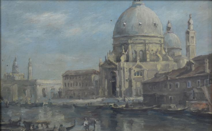 Italiaanse school. Titel: Venetië - Artiquair