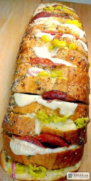 Итальянский безумный хлеб