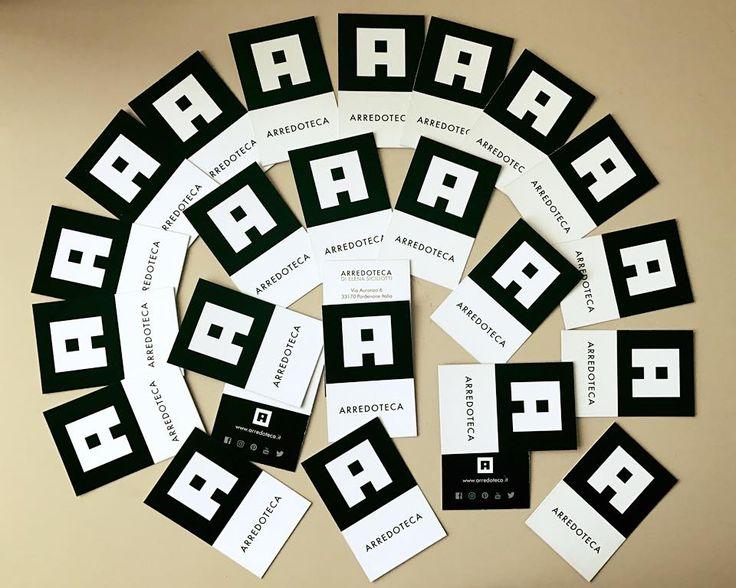 ARREDOTECA di Elena Siciliotti - Logo e biglietti da visita #arredoteca #elenasiciliotti #businesscard #homedesign #furniture #A